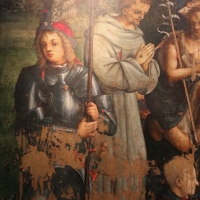 Amico aspertini, madonna in trono, santi e due devoti, 1504-05, dai ss. girolamo ed eustachio, 03 - Sailko - Bologna (BO)