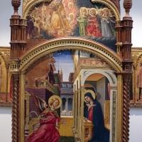 L'alunno, madonna in trono e santi con annunciazione, 05 - Sailko - Bologna (BO)