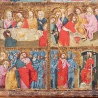 Maestro di san nicolò degli albari, storie di cristo e santi, 1320 ca. 03 - Sailko - Bologna (BO)