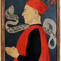 Maestro della pala dei muratori (attr.), ritratto di ludovico bolognini, 1480-85 ca - Sailko - Bologna (BO)