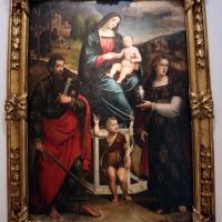 Giacomo e giulio francia, madonna in trono e santi, 1517-25 - Sailko - Bologna (BO)