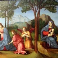 Francesco francia, visione di s. agostino, 1510 ca., da s.m. della misericordia, 03 - Sailko - Bologna (BO)