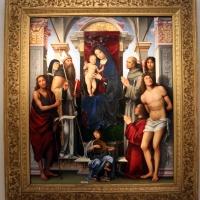 Francesco francia, madonna in trono e santi, 1490 ca., da s.m. della misericordia, 01 - Sailko - Bologna (BO)