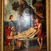 Lorenzo costa e bottega, sepoltura di gesù cristo, 1500-06, dall'annunziata 02 - Sailko - Bologna (BO)