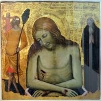 Vitale da bologna, pietà tra i ss. antonio abate e cristoforo, 1355 ca, da s. giovanni battista - Sailko - Bologna (BO)