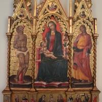 Giovanni martorelli, frammenti di polittico, 1460 ca, da abbazia di monteveglio - Sailko - Bologna (BO)