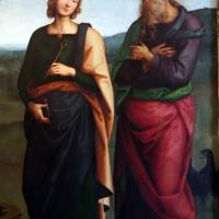 Perugino, madonna in gloria e santi, da s. giovanni in monte, 1500 ca. 04 - Sailko - Bologna (BO)