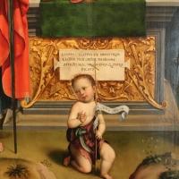 Francesco francia, madonna in trono e santi, 1495 ca. 03 dall'annunziata - Sailko - Bologna (BO)