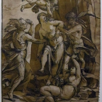 Andrea andreani da ligozzi, allegoria della virtù tormentata e salvata da amore, 1585 (bol. pinacoteca) - Sailko - Bologna (BO)