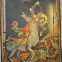 BO - Pinacoteca Nazionale - Sala 1 - Dal Duecento al Gotico - Vitale da Bologna - San Giorgio e il Drago - ElaBart - Bologna (BO)