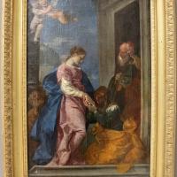 Donato creti, visitazione della vergine a santa elisabetta, 1710-20 ca., coll. zambeccari - Sailko - Bologna (BO)