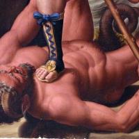 Innocenzo da imola, madonna in gloria e tre santi, 1517-22, da s. michele in bosco 07 diavolo - Sailko - Bologna (BO)