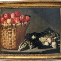 Pittore di rodolfo lodi, cesto di frutta e ortaggi, 1680 ca - Sailko - Bologna (BO)