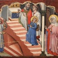 Simone dei crocifissi, sette episodi della vita di maria1396-98 ca, da polittico cospi in s. petronio 03 - Sailko - Bologna (BO)