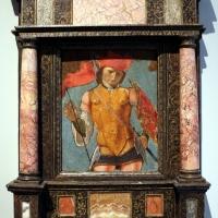 Ercole de' roberti (attr.), san michele arcangelo, 1480-85 ca. 01 - Sailko - Bologna (BO)