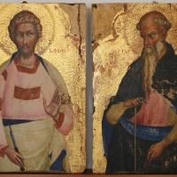 Lorenzo veneziano, ss. antonio abate e bartolomeo, 1368, da s. giacomo maggiore - Sailko - Bologna (BO)