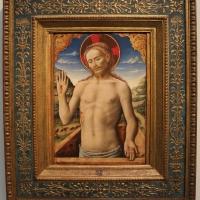 Antonio vivarini, gesù che sporge dal sepolcro, 1450 ca., da s. caterina del corpus domini - Sailko - Bologna (BO)