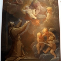 Guido reni, la madonna col bambino appare a s. francesco, 1640 ca - Sailko - Bologna (BO)