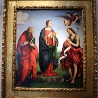 Francesco francia, annunciata tra i ss. girolamo e giovanni battista, 1505-10 ca., da s. girolamo di miramonte - Sailko - Bologna (BO)