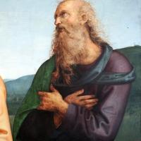 Perugino, madonna in gloria e santi, da s. giovanni in monte, 1500 ca. 05 giovanni evangelista - Sailko - Bologna (BO)