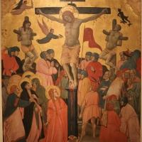 Jacopo di paolo, crocifissione, annunciazione e santi, 1400-10 ca., da s. michele in bosco 03 - Sailko - Bologna (BO)