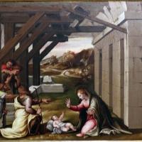 Girolamo marchesi detto il cotignola, predella da s. giuseppe dei cappuccini, 1522-24, natività - Sailko - Bologna (BO)