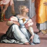 Giorgio vasari, gesù in casa di marta e maria, 1540, da s. michele in bosco 03 - Sailko - Bologna (BO)