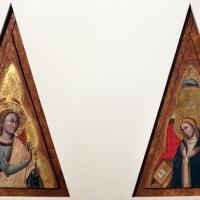 Simone dei crocifissi, arcangelo gabriele e vergine annunziata, 1350-55 ca - Sailko - Bologna (BO)