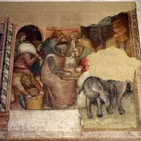 Anonimo bolognese, storie di giuseppe ebreo, 1330-75 ca., 09 consegna dei sacchi di grano - Sailko - Bologna (BO)