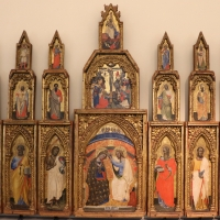 Simone dei crocifissi, polittico da s. domenico, 1365-70 ca., 01 - Sailko - Bologna (BO)