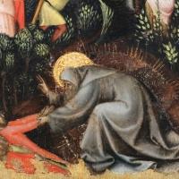 Vitale da bologna, storie di s. antonio abate, 1340-45 ca., da s. stefano 04 - Sailko - Bologna (BO)