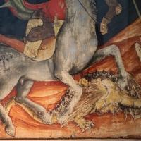 Vitale da bologna, san giorgio libera la principessa, 1330-35 ca., 03 drago - Sailko - Bologna (BO)