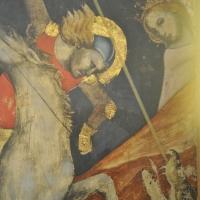 BO - Pinacoteca Nazionale - Sala 1 - Dal Duecento al Gotico - Vitale da Bologna - San Giorgio e il Drago - Dettaglio - ElaBart - Bologna (BO)