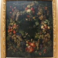 Michelangelo cerquozzi, ghirlanda di frutta e uccelli, 1646 ca., coll. zambeccari - Sailko - Bologna (BO)