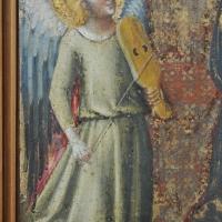 BO - Pinacoteca Nazionale - Sala 1 - Dal Duecento al Gotico - Pseudo Jacopino - Incoronazione della Vergine e Angeli - Dettaglio - ElaBart - Bologna (BO)