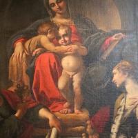 Annibale carracci, madobnna in trono e santi, 1593, da s. giorgio, 02 - Sailko - Bologna (BO)