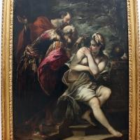 Michele desubleo, gesù appare a s. agostino, 1650-60 ca., dai ss. gesù e maria - Sailko - Bologna (BO)