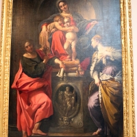 Annibale carracci, madobnna in trono e santi, 1593, da s. giorgio, 01 - Sailko - Bologna (BO)