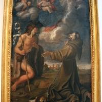 Baldassarre galanino, madonna col bambino tra i ss. francesco e g. battista, 1602, da s. paolo all'osservanza - Sailko - Bologna (BO)