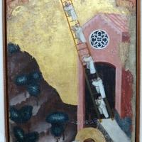 Pseudo jacopino, visione di san romualdo, 1329, da s. cristina - Sailko - Bologna (BO)