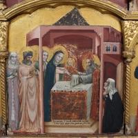 Pseudo jacopino, polittico da s. m. nuova, 1330-35 ca. 08 - Sailko - Bologna (BO)