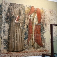 Vitale da bologna, ultima cena e santi, ante 1340, da s. francesco, 04 - Sailko - Bologna (BO)