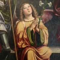 Francesco francia, madonna in trono e santi, 1490 ca, da s. maria della misericordia, 03 angelo - Sailko - Bologna (BO)