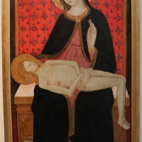 Maestro di san verecondo, madonna col cristo morto, 1415-30 ca - Sailko - Bologna (BO)