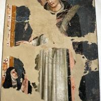 Simone dei crocifissi (attr.), san pietro da verona e una monaca, 1375-80 ca., da s. agnese - Sailko - Bologna (BO)