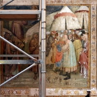 Jacopo di paolo e altri, storie di mosè, 1375-80 ca., da oratorio di mezzaratta, 05 - Sailko - Bologna (BO)