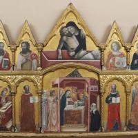 Pseudo jacopino, polittico da s. m. nuova, 1330-35 ca. 01 - Sailko - Bologna (BO)