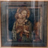 Pittore emiliano, madonna col bambino e san michele, 1350-60 ca - Sailko - Bologna (BO)