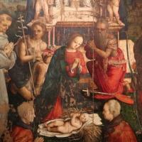 Amico aspertini, madonna in trono, santi e due devoti, 1504-05, dai ss. girolamo ed eustachio, 04 - Sailko - Bologna (BO)