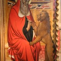 Pietro di giovanni lianori, polittico da s. girolamo di miramonte, 1453, 02 girolamo e il leone - Sailko - Bologna (BO)